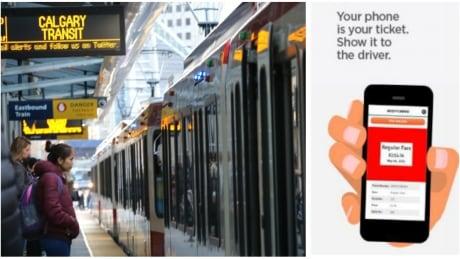 Calgary Transit Smartpone