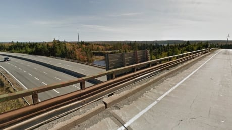 The current bridge shows its age. It's part of the interchange that will be replaced.