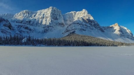 mountains near icefields parkway