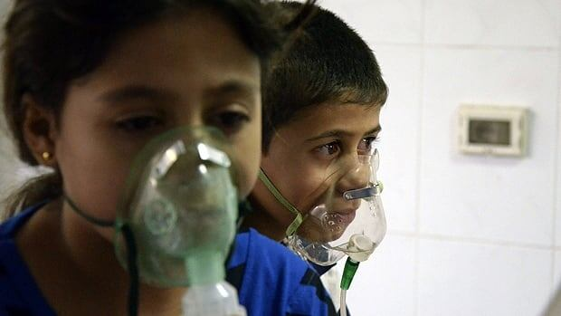 Syria chemical attack clues