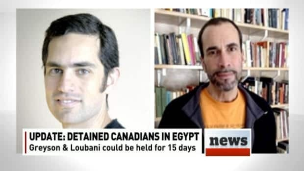2 Canadians to be held another 15 days in Egypt