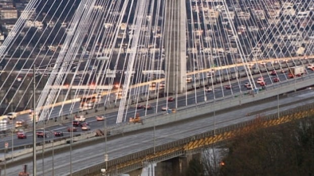 Morning gridlock leaves Port Mann commuters fuming | CBC News