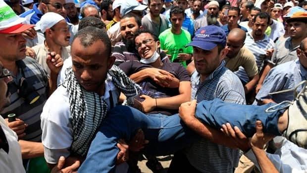 Dozens dead in Cairo