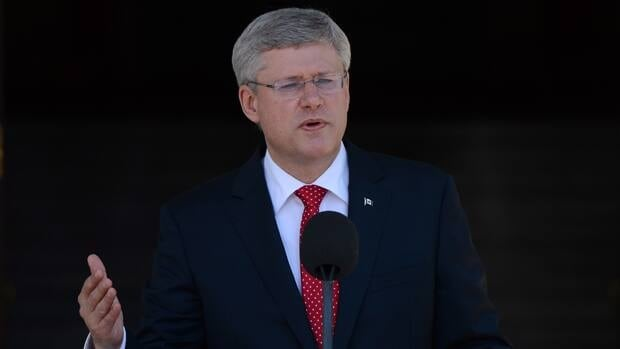 Harper on his cabinet shuffle