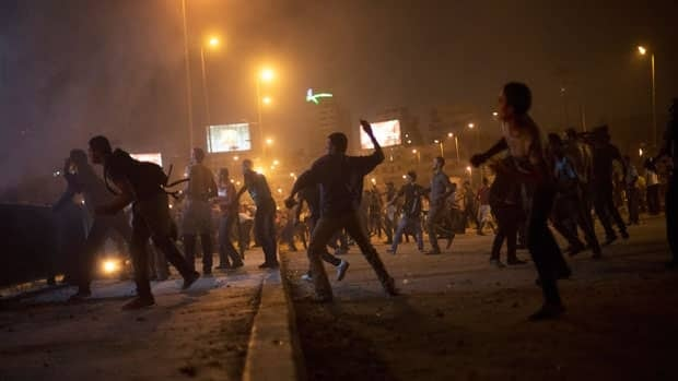 Clashes erupt in Egypt