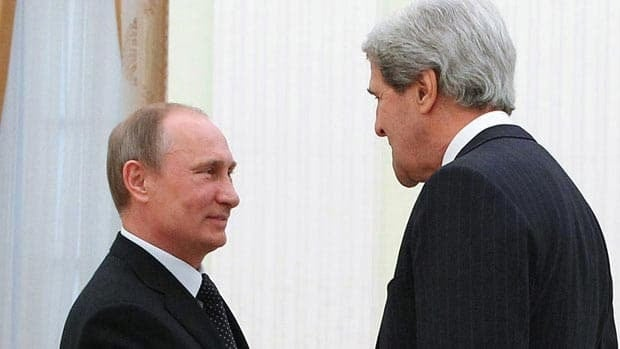 Kerry asks Putin to get tough