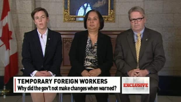 Migrants hired, Canadians on EI