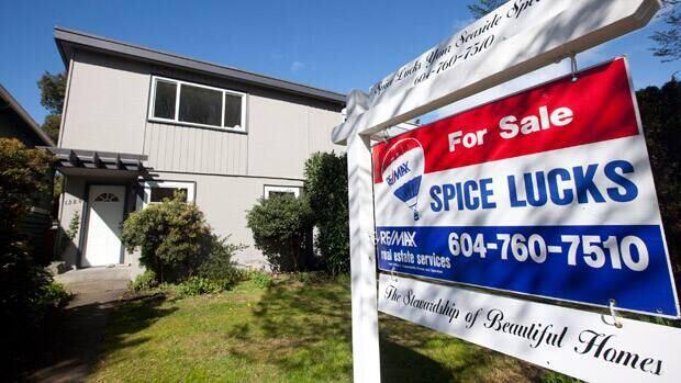 Home sales across Canada