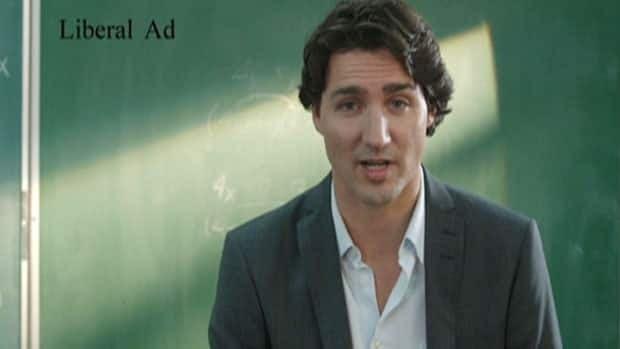 Trudeau ad counter-attack