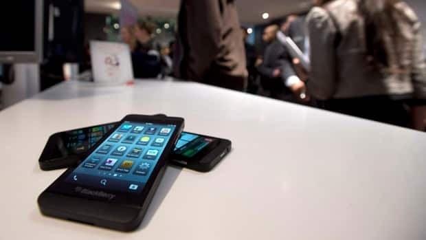 BlackBerry makes a profit