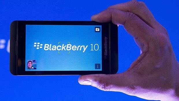 Blackberry results thrash expectations