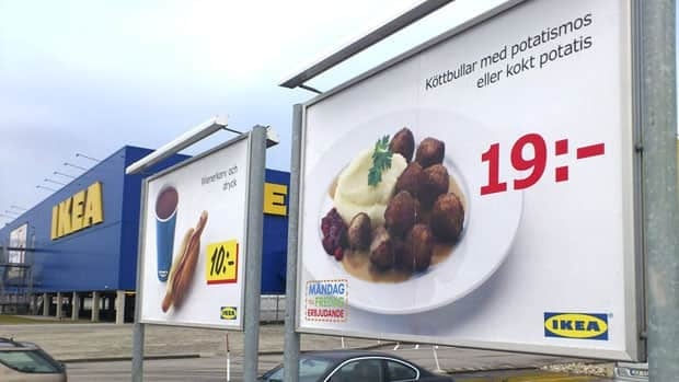 Horse found in Ikea meatballs