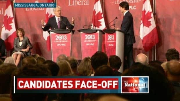 Liberal leadership candidates face off