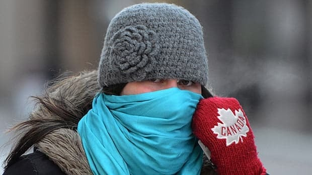 Canada's cold grips tight