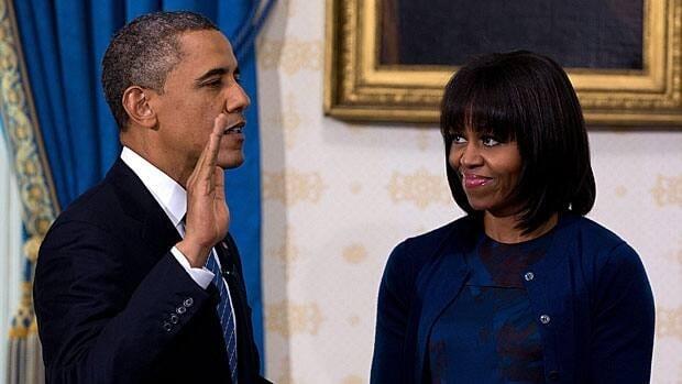 U.S. President sworn in