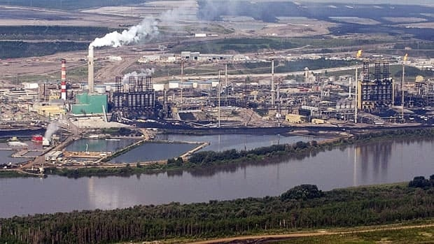 Oilsands' chemical effects