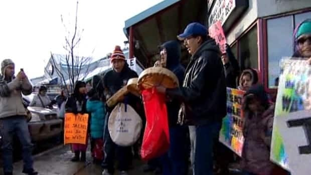 Raw video: Idle No More in Calgary