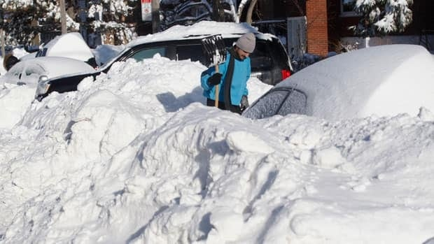 Montreal snow cleanup