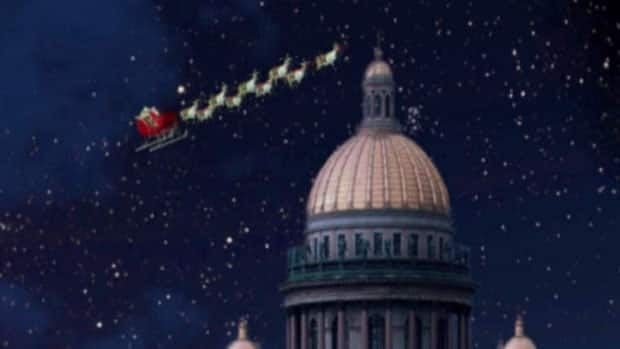 NORAD tracks Santa's progress