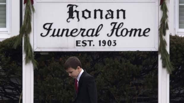Funerals for 2 children in Newtown