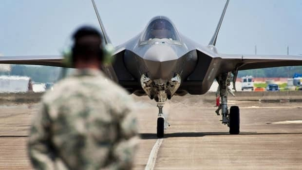 F-35 deal not cancelled, Tories insist