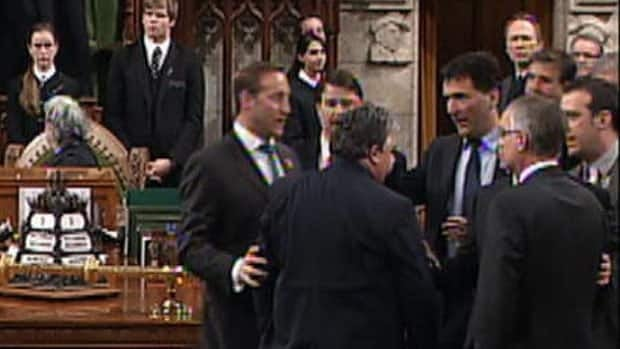 Tempers flare in Commons