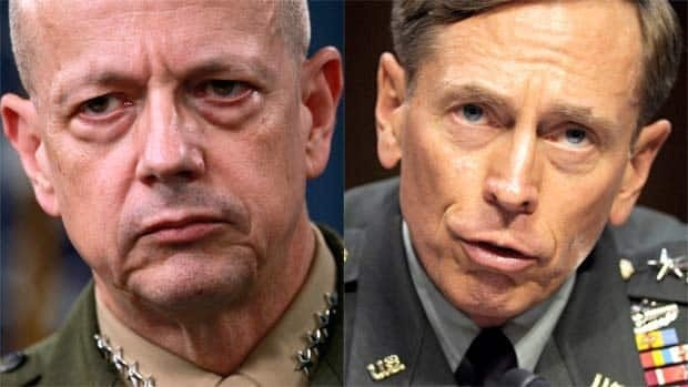 Generals in hot water