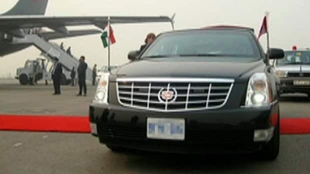 RCMP ships Harper's armoured Cadillac to India - Politics ...