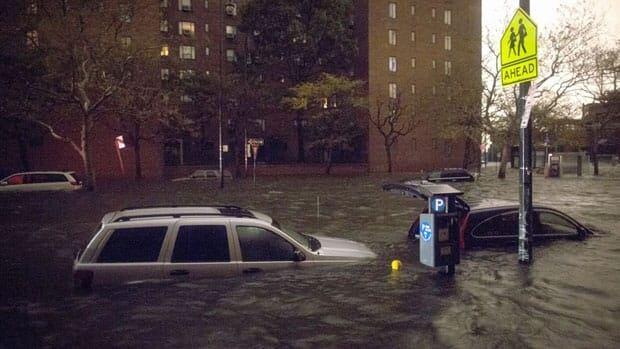 RAW NYC floodwaters