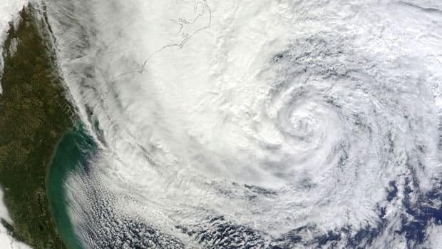 Tracking Hurricane Sandy