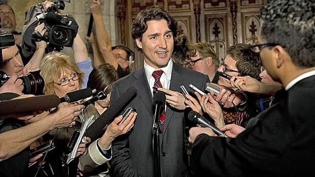 Trudeau leadership announcement