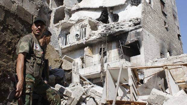 Evidence mounts on Syrian chemical weapons use