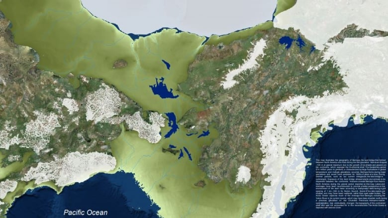 Bond says the map gives us a better idea of how humans used the landscape. (Submitted by Jeff Bond)