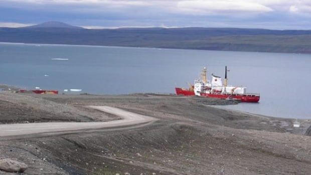 Defence officals plan to refurbish the former Nanisivik mine dock, seen in this August 2007 photo, into a naval refuelling station by 2018.