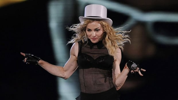 Madonna will officially open the Toronto location of her Hard Candy fitness gym tonight. The music icon will be leading a class at the downtown facility for 30 others who earned the chance to dance alongside Madonna following several auditions.