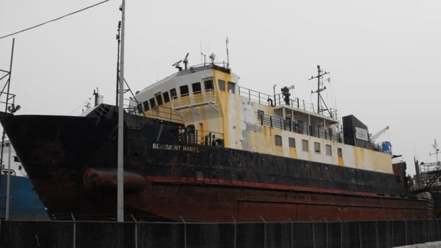 The Beaumont Hamel, pictured in a 2011 file photo, was knocked out of service by an electrical issue on Saturday, leaving the Fogo Island run without a vessel.