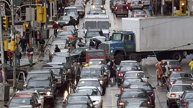 City staff have identified two particularly bad spots for stalled traffic: the Gardiner Expressway at Jameson Avenue and the Don Valley Parkway at Don Mills Road.