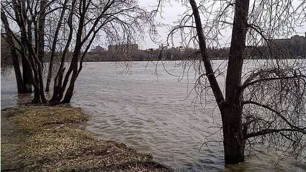 River water levels are expected to be high this spring, but not as high as this in 2011.