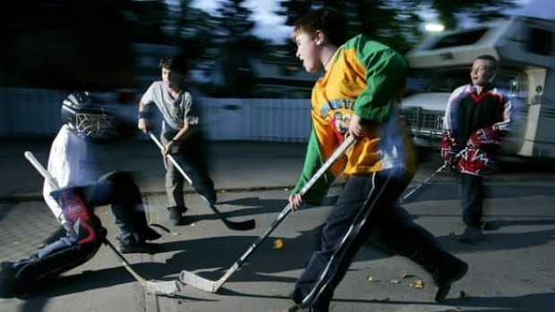 Street hockey and other activities will be part of a pilot project to encourage kids to play on designated streets in The Annex and Seaton Village.