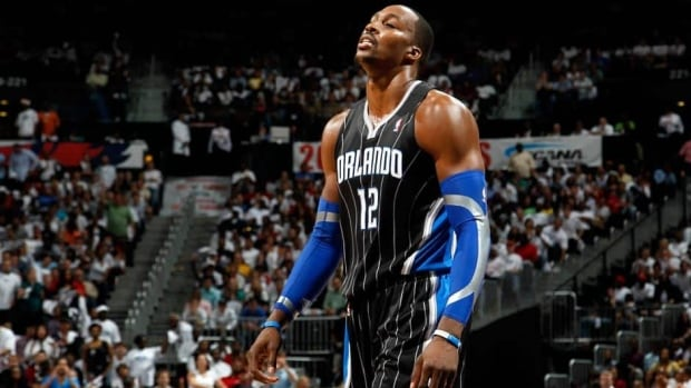 Centre Dwight Howard spent last season with the Los Angeles Lakers.