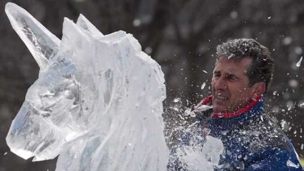 Ice sculptor Laurent Godon cuts a unicorn from a block of ice in Confederation Park during Winterlude 2010 in Ottawa. In 2014, the festival is set to run from Jan. 31 to Feb. 17.