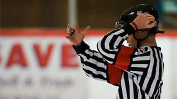 In Saskatchewan, most new hockey officials referee their first game at age 13.