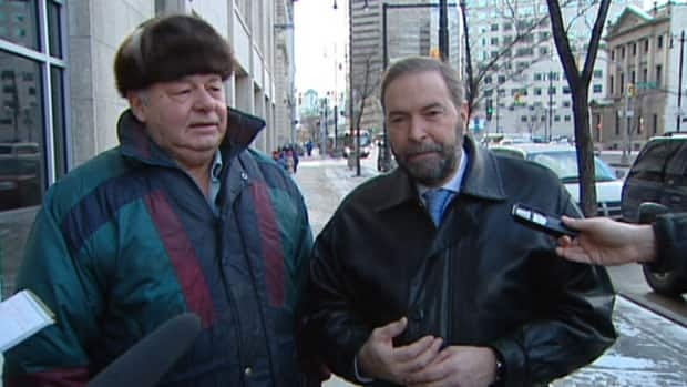 NDP leader Thomas Mulcair says he ended the meeting with Vaillancourt immediately.