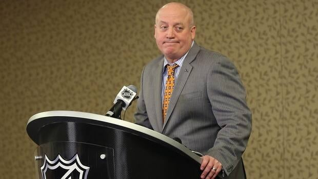 NHL deputy commissioner Bill Daly and the league announced that the teams that hold the rights to the top 14 picks, will be eligible for the No. 1 draft pick.