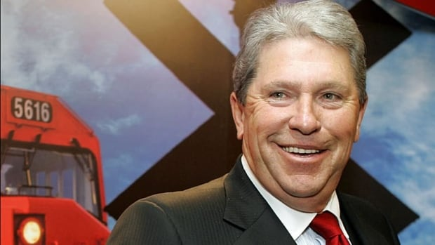 Canadian Pacific Railway CEO Hunter Harrison said it's easy to blame the railways for grain backlogs, but that ignores the facts.
