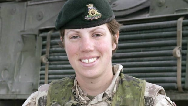 Capt. Nichola Goddard, 26, had been serving in Afghanistan with the Princess Patricia's Canadian Light Infantry. She was a member of the Royal Canadian Horse Artillery, based in Shilo, Man. (The Canadian Press)