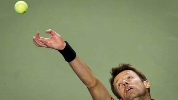 Canada's Daniel Nestor , shown in this file photo, sits fourth all-time in career ATP doubles titles.