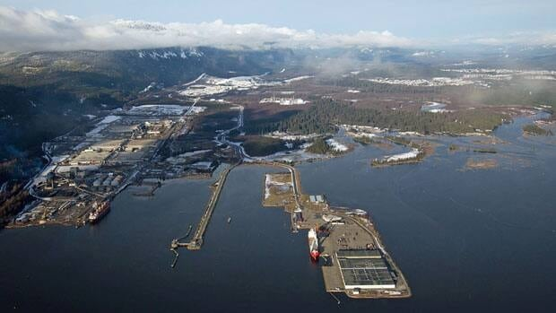 Tankers would use Douglas Channel to gain access to the terminus of Enbridge's proposed Northern Gateway oil pipeline at Kitimat, B.C.