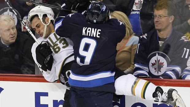 Jets' forward Evander Kane had an eventful lockout. The big winger played 12 games with Dinamo Minsk in Belarus before he was let go for what the team said was a failure to adapt to KHL hockey.