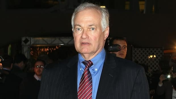 Donald Fehr during an NHL labour meeting at the Westin Times Square Hotel on December 4, 2012 in New York City.